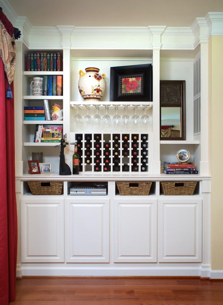 17 best images about wine cabinet rack on pinterest for Wine rack built in