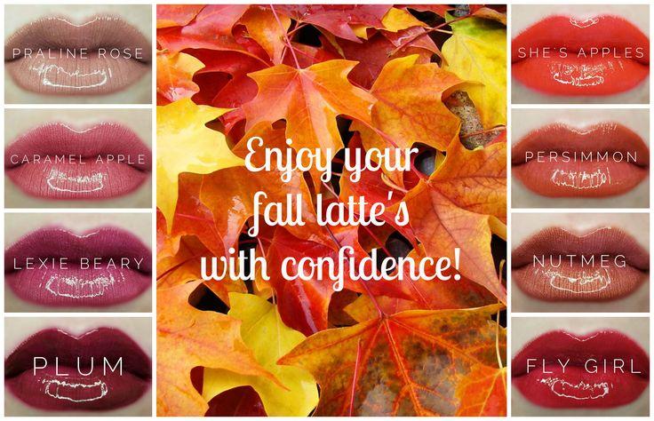 The PERFECT Fall lip colors! #longlasting #uptp18hourwear #kissproof #gamechanger #betterthanlipstick SeneGence Lipsense distributor ID: 422456 www.fb.com/groups/LipsenseAshley