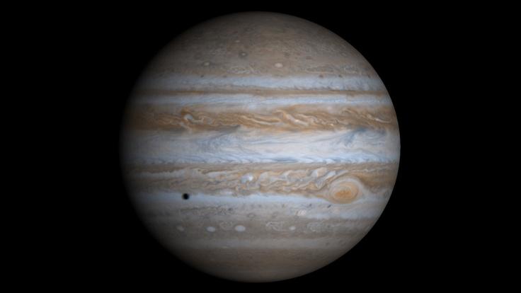 Планета, газовый гигант, юпитер, спутник