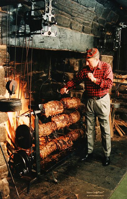 if i live to be this old ...this will be me hat and all ;)   from my hogs on a grill i built...yeah sounds about right