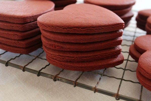 Red Velvet Roll Out Cookies