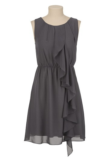 Chiffon Ruffle Tank Dress available at #Maurices