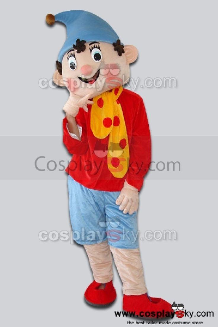 Pinocchio Mascotte Costume Taille D'adulte_1