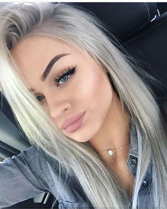 shades of grey hair