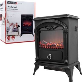 Since I Need A Heater In The Tent   Why Not: Portable Electric Fireplace  Heater