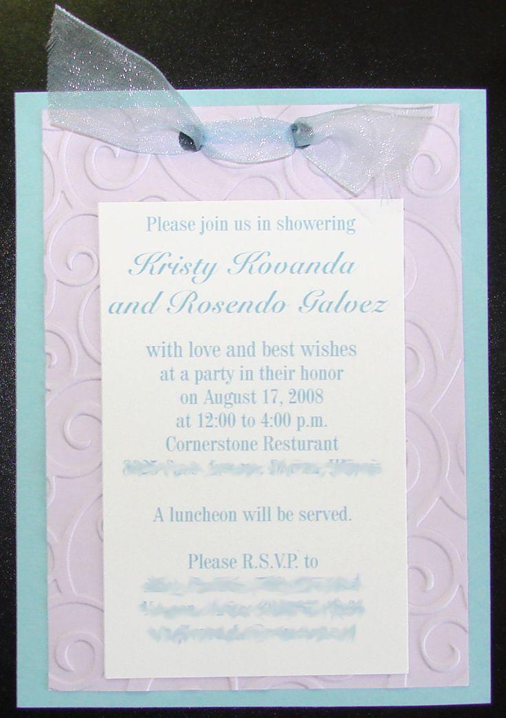 blank beach bridal shower invitations%0A Bridal Shower invitations  quantity     Scrapbook com
