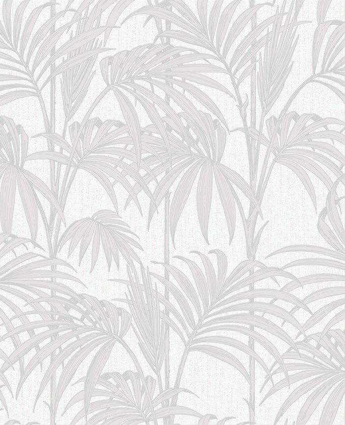 Honolulu White Ice Wallpaper by Graham and Brown