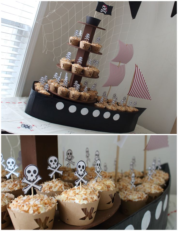 Arrrggh! It's a pirate party!                                                                                                                                                                                 More