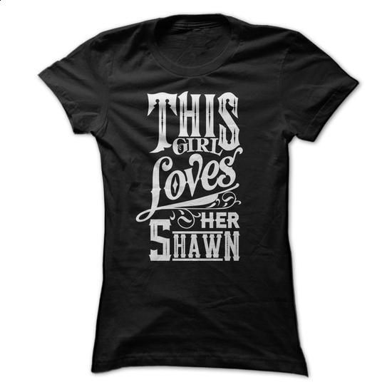For Girls that Love their Shawn - #plain t shirts #womens hoodie. GET YOURS…