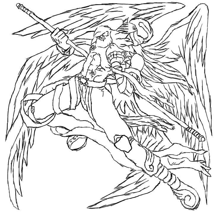 Angemon By Https Www Deviantart Com Finalfdp On Deviantart Digimon Art Humanoid Sketch