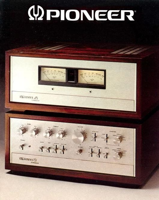 EXCLUSIVE...Stereo. PIONEER C3 / M3 1976 www.1001hifi.com