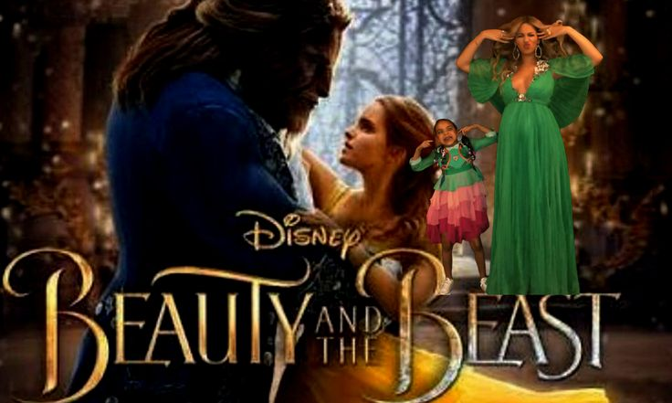 """Beyonce et sa fille Blue Ivy font sensation à l'ouverture de la nouvelle version de """"La Belle et la Bête"""""""