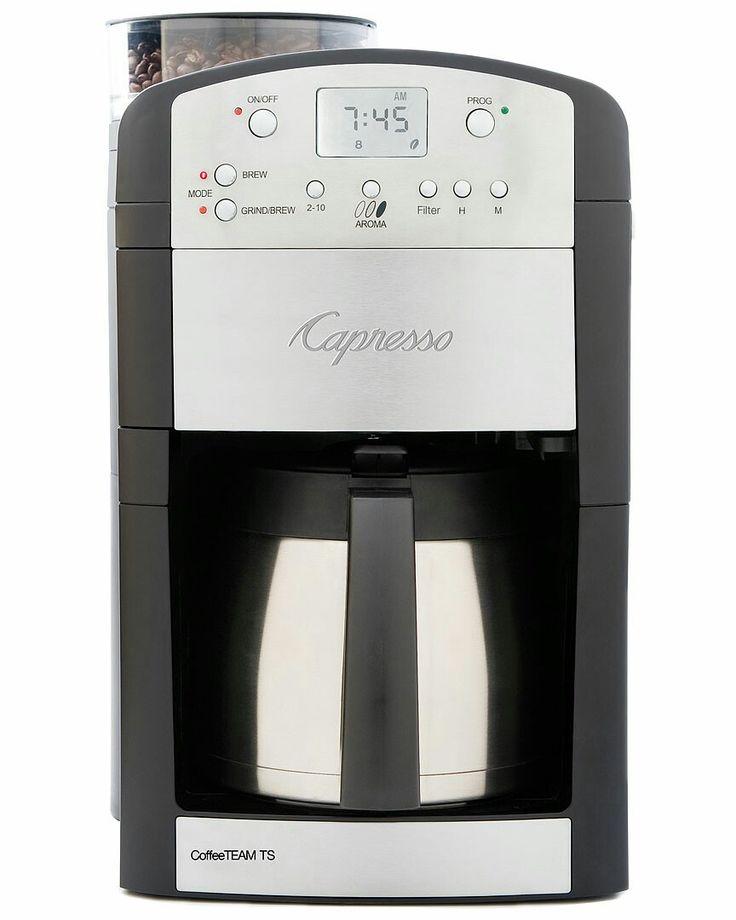 Coffee pot upgrade capresso coffee maker