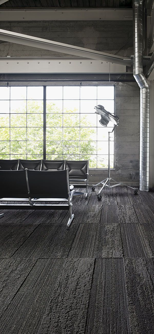 Interface | Modular Carpet Tile | Near & Far | NF400 Mineral | NF401 Mineral