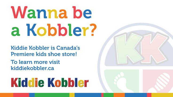 Wanna be a Kobbler? | #KiddieKobbler #franchising http://www.kiddiekobbler.ca/index.php/franchising