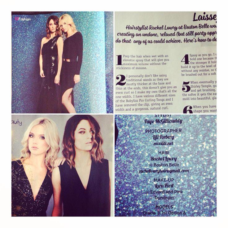 U magazine shoot by me