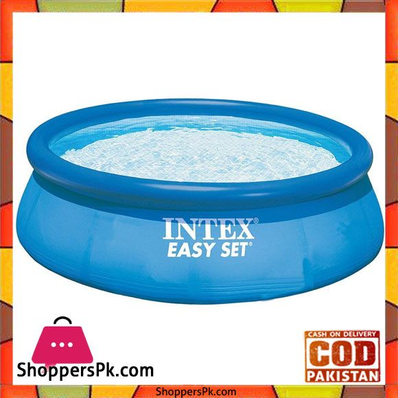 Buy Intex Easy Set Swimming Pool Blue 366 X 76 28132 At Best Price In Pakistan Easy Set Pools Inflatable Swimming Pool Above Ground Swimming Pools