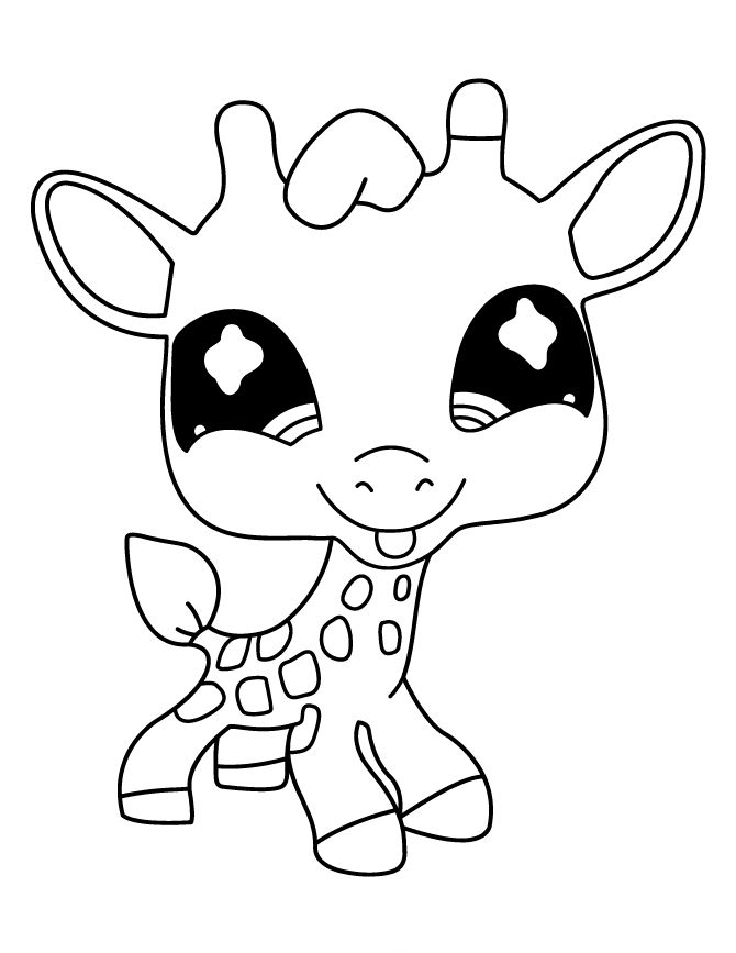 Littlest Pet Shop Deer Cute Littlest