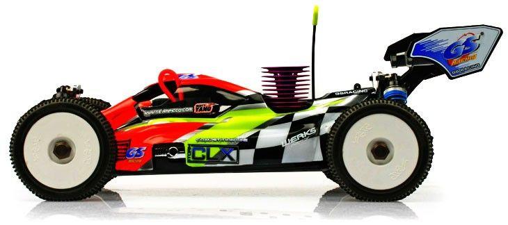 GS Racing Storm CLX Pro 1/8th Nitro RC Buggy KIT - http://www.nitrotek.co.uk/241.html