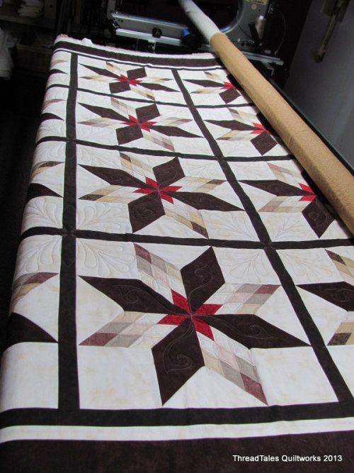 Threadtales: Anna's Star Quilt