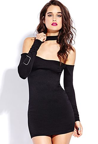 Sophisticated Bodycon Dress | FOREVER21 - 2000090641