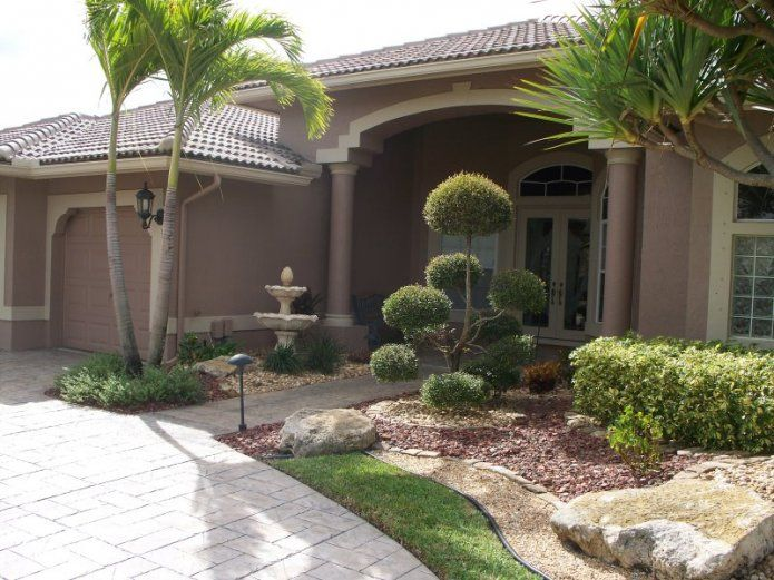 66 best images about landscape ideas on pinterest small for Landscaping rocks broward county