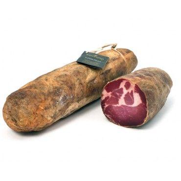 Capocollo di Martina Franca - Presidio Slow Food Pugliese prodotto nel paese di Cisternino nella Valle d'Itria