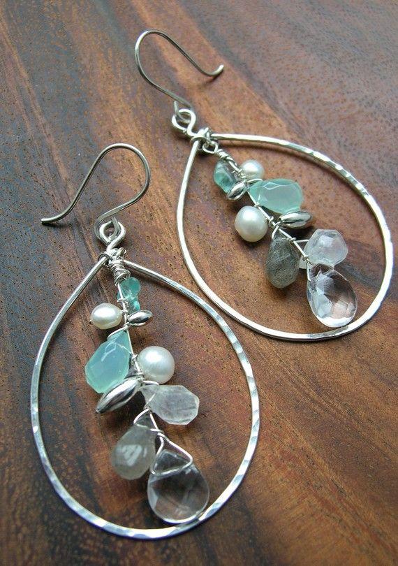 Cute wire earrings