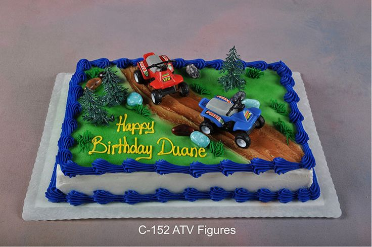 Quad Birthday Party Theme | When ordering a cake from this page, please give your salesperson the ...