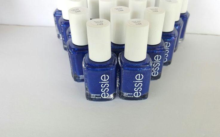 20 ESSIE Wholesale Nail Polish Bulk Lot ~ SAPPHIRE BLUE Baby Bridel Shower party #essie