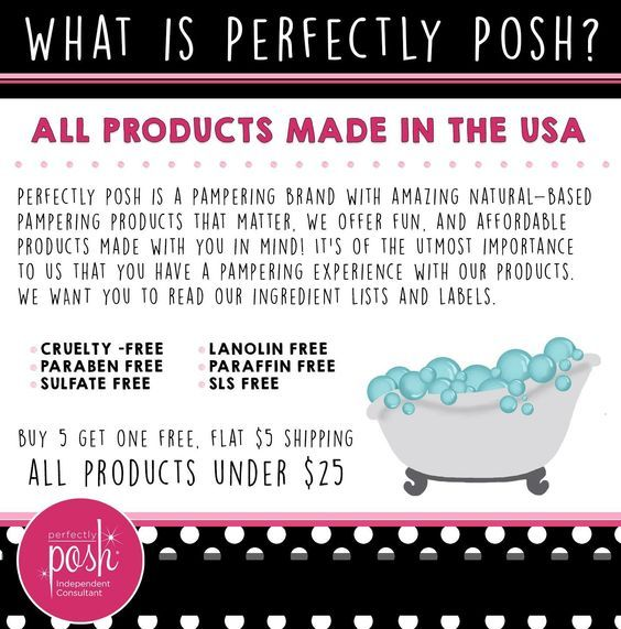 What is Perfectly Posh? Check out https://courtneykathleen.po.sh for more info