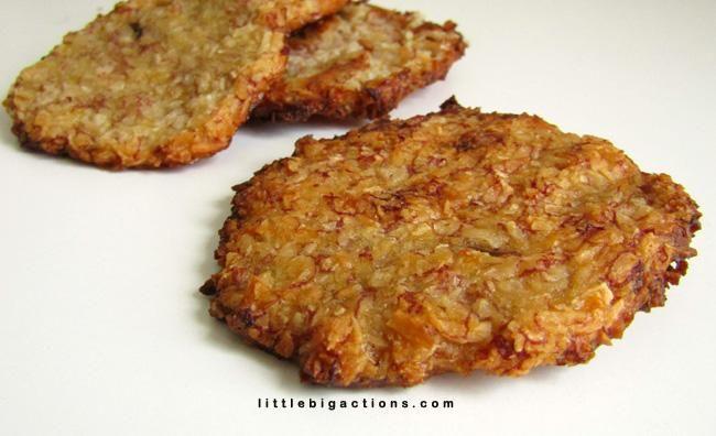 Ingredientes saludables para elaborar las galletas más sabrosas y más ligeras del mundo sólo con 2 alimentos principales en tu cocina saludable.