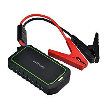 VicTsing 400A Peak 12000mAh Portable Car Jump Starter Phone Power Bank (Up to 4L Gas or 2.0L Diesel Engine) Auto Battery Pack Booster Charger with LED Light