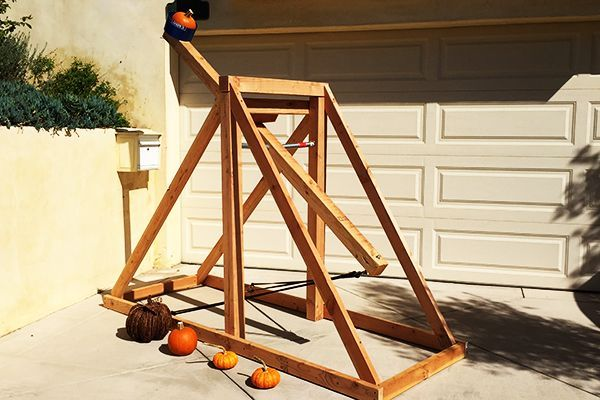 Make This Pumpkin Chunkin' Catapult