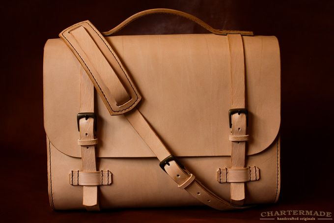 Cambridge Satchel (Natural) by CHARTERMADE on hellopretty.co.za