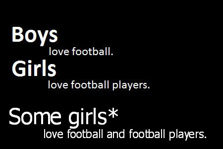 girls and football