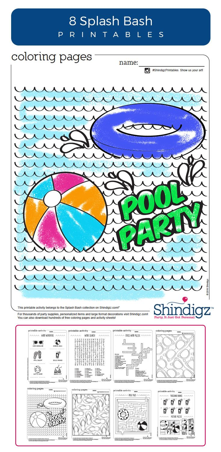 The 21 best FREE Party Printables images on Pinterest | Party ...