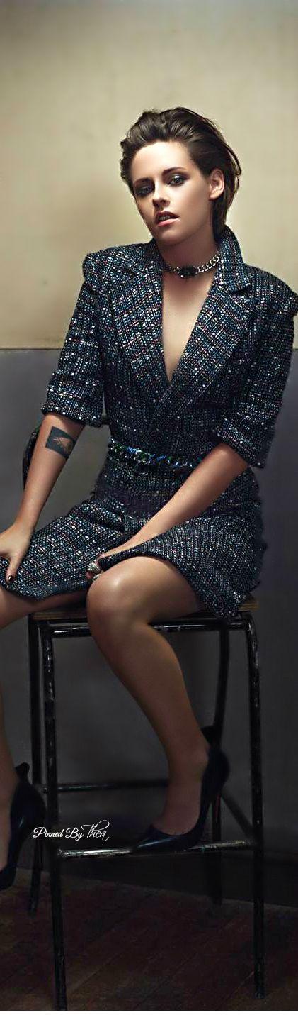 Chanel ● Kristen Stewart, Madame Figaro March 2015