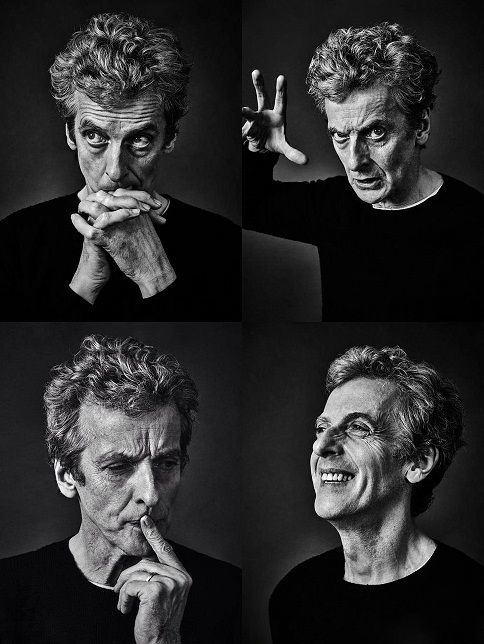 Peter Capaldi | Photographed by Andy Gotts