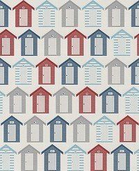 Red / Blue - 20-272 - Beside the seaside - Beach Huts - Contour - Graham & Brown Wallpaper by Graham & Brown, http://www.amazon.co.uk/dp/B007KMTLQA/ref=cm_sw_r_pi_dp_MpNatb0WFQ6H0