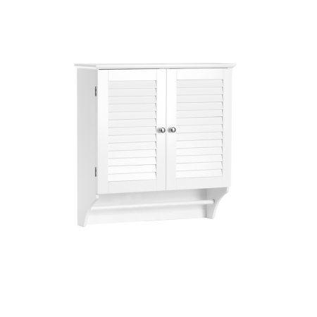 RiverRidge Home Ellsworth Collection - 2-Door Wall Cabinet - White