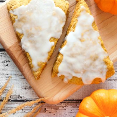 Pumpkin Scones ( Starbucks Copycat!). If you love Starbucks pumpkin scones,you will love these!