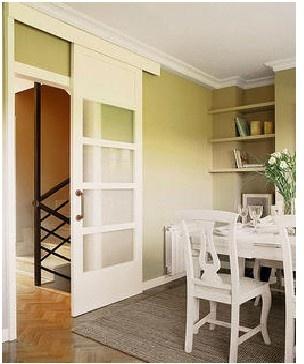 1000 images about puertas corredizas on pinterest - Puerta corredera cristal cocina ...