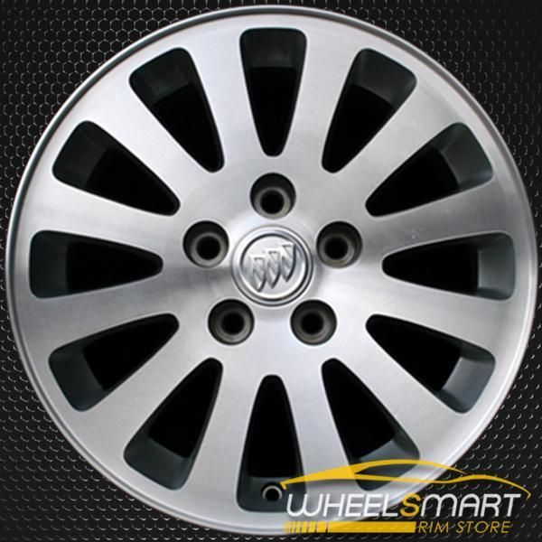 16 Buick Lucerne Oem Wheel 2006 2008 Machined Alloy Stock Rim 4013 Oem Wheels Buick Lucerne Buick Lesabre