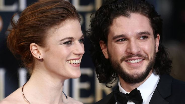 GoT's Jon Snow And Ygritte (AKA Kit Harington And Rose Leslie) Are Officially Engaged In Real Life