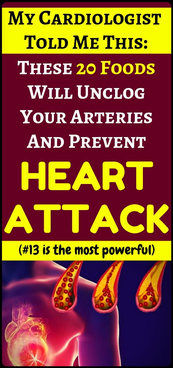 20 Foods That Can Help Unclog Your Arteries And Fight Bad Cholesterol – health a… – Jeff Casner