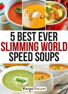 Slimming World   The best Slimming World soup Recipes brought to you by RecipeThis.com #Vegetariancooking