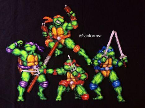Tortugas ninja  by victormvr