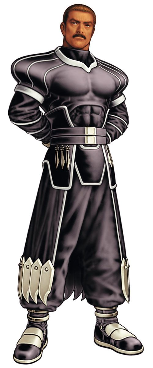 Zero from King of Fighters 2000