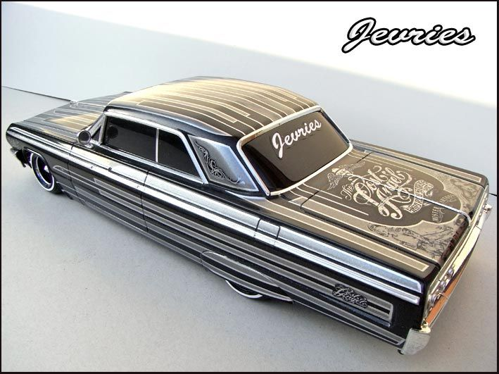 Que paso vato? Lol Wes Side '64 Impala lowrider